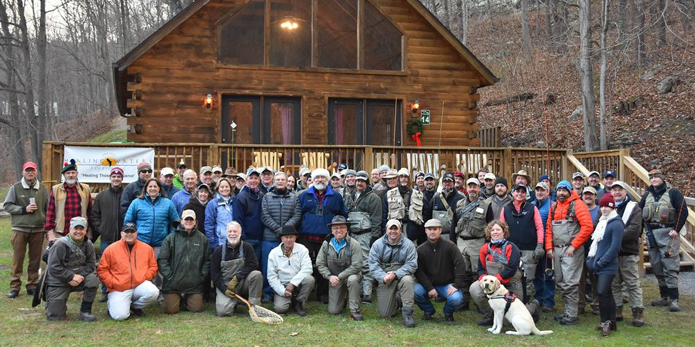 Wounded veterans and service members learn more than just fly fishing