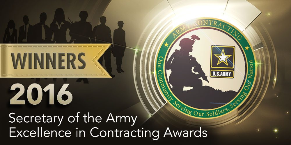 Army Announces Excellence in Contracting Awards