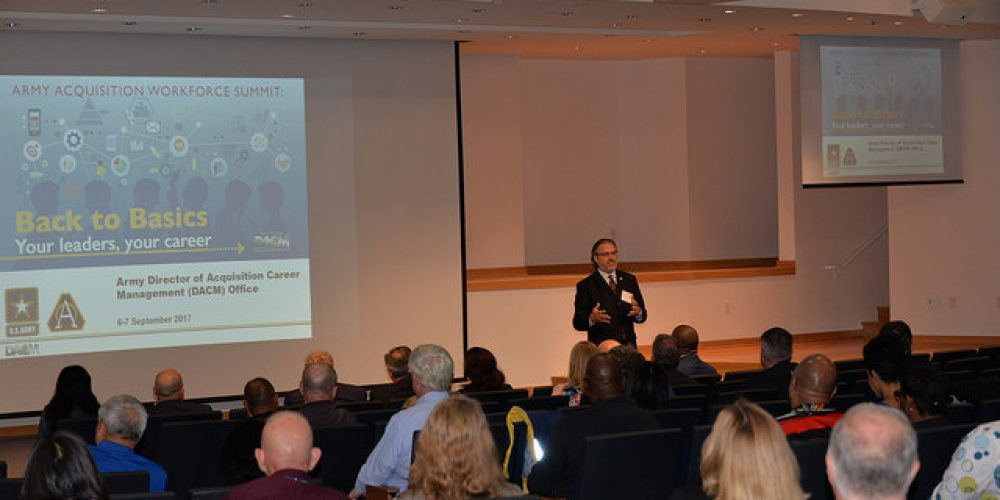 Army DACM Office hosts first career summit