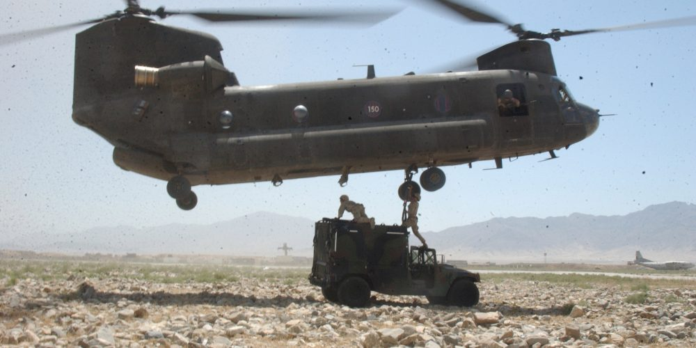 Army Chinook Helicopter to Fly for 100 Years
