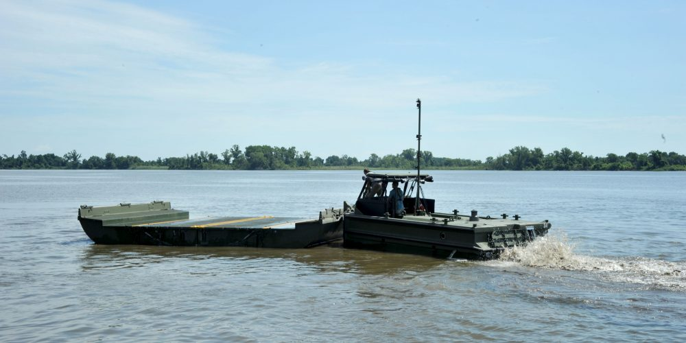 New boats anchor military bridging ops