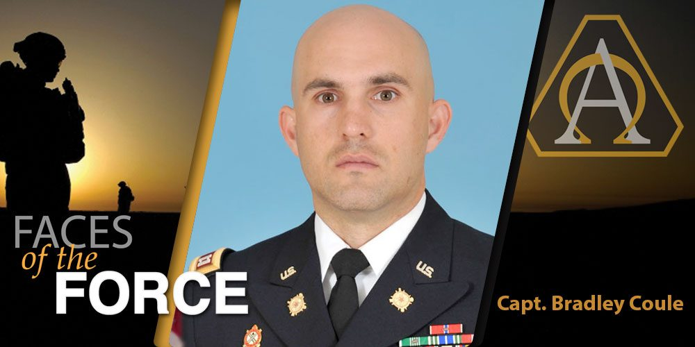Faces of the Force: Capt. Bradley Coule