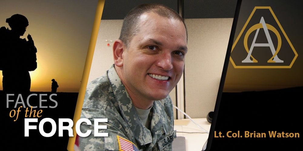 Faces of the Force: Lt. Col. Brian Watson