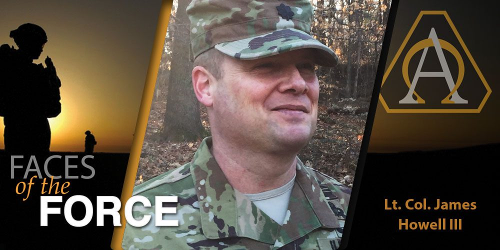Faces of the Force: Lt. Col. James E. Howell III