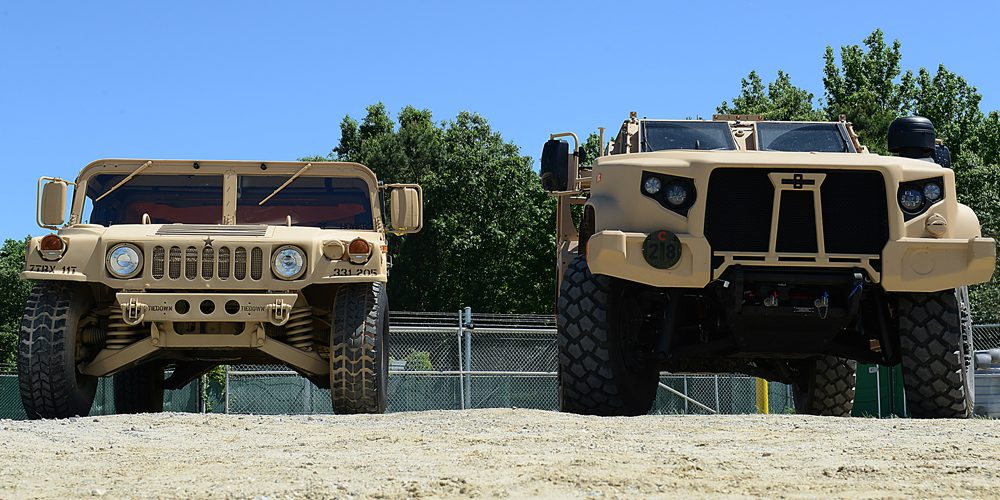 Then and Now: Not Your Daddy's (or Granddaddy's) Tactical Vehicle