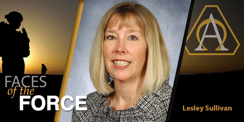 Faces of the Force: Ms. Lesley Sullivan