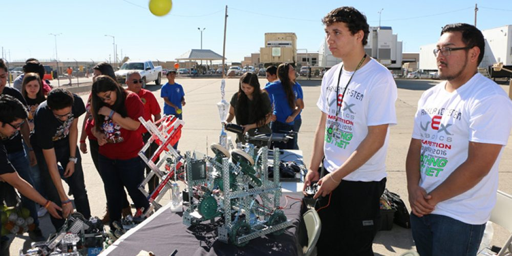 Future modernization motor pool sparks student interest in Army STEM careers