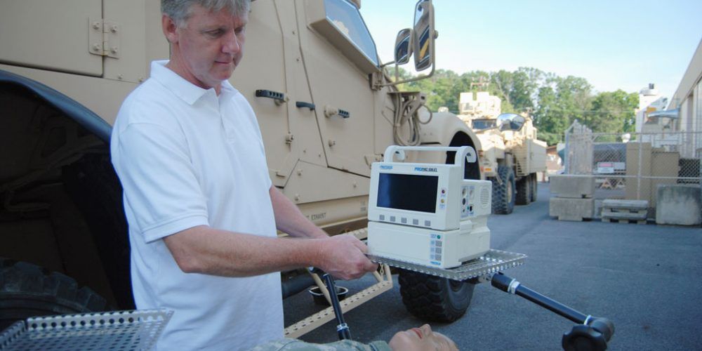 Medical Prototype Development Laboratory Gives MEDEVAC Device a New Look
