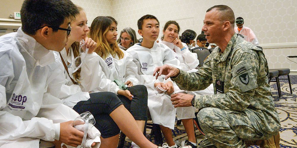 Growing the next generation of Army scientists and engineers through an education and research continuum