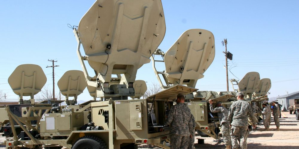Army transitions WIN-T sustainment support back to the U.S.