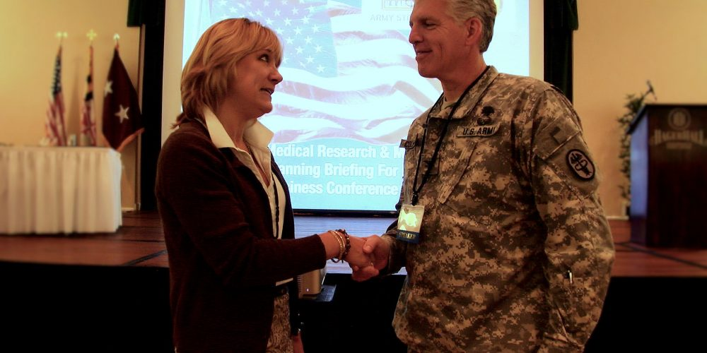 U.S. Army Medical Research and Materiel Command Conference Draws Small Businesses Looking for Big Contracts
