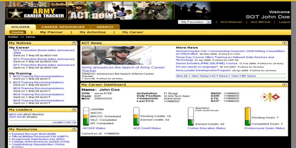 New Website Gives Functional Area 51 Officers One-Stop Career Management Tool