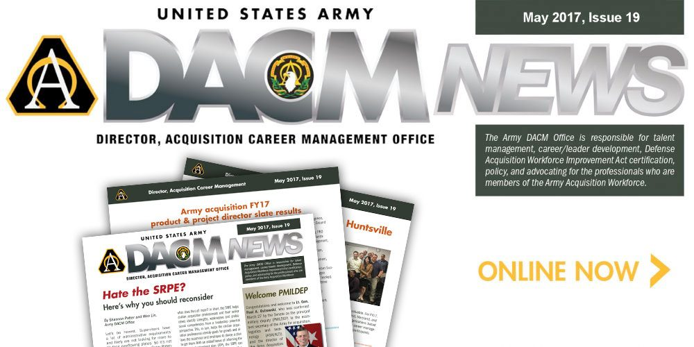 Newsletter provides acquisition workforce career news, tips