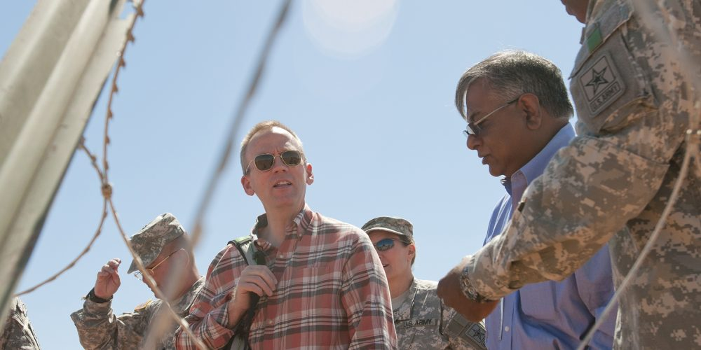Under SecArmy Carson stresses network modernization, thanks troops at Fort Bliss