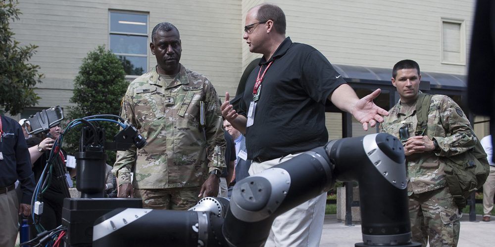 Army showcases latest technologies at 2017 DOD Lab Day