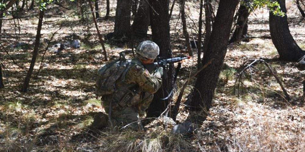 Soldiers simulate realistic scenarios while testing Rifleman Radio