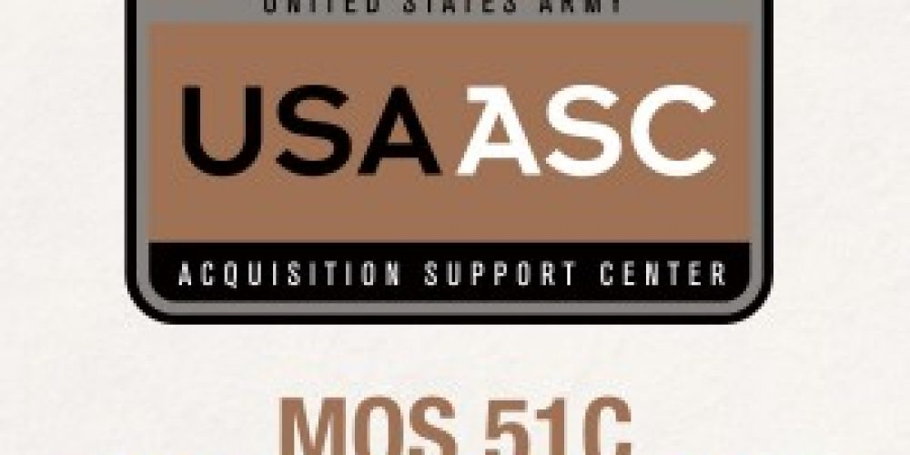 U.S. Army Acquisition Support Center Selects 51C NCOs