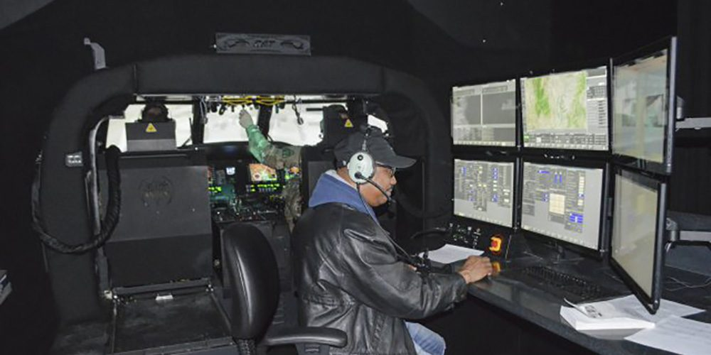 Co-development effort leads to state-of-the-art UH-60M training simulator