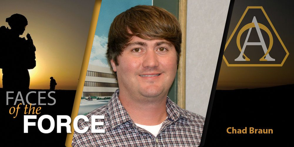 Faces of the Force: Mr. Chad Braun