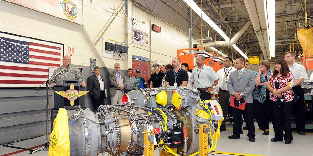 #AAC25 Depot Completes 3,000th General Electric T-701D Conversion Engine