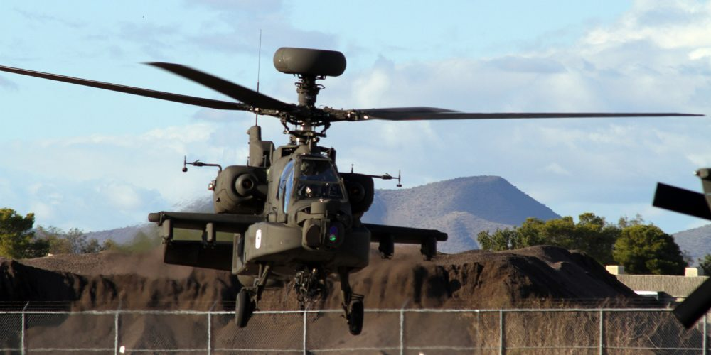 #AAC25 Pilots train on new AH-64D Apache helicopter