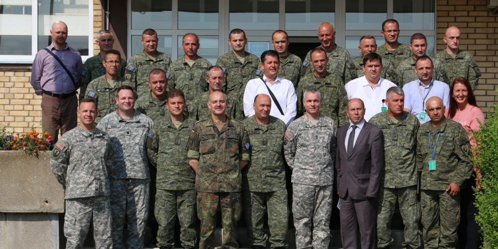 US Army contracting team trains local institutions in Kosovo