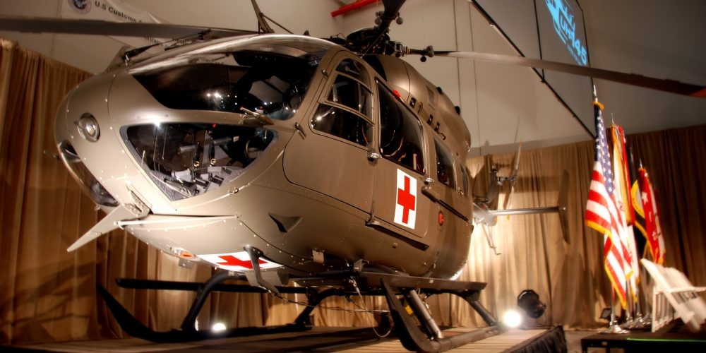 #AAC25 Army unveils Light Utility Helicopter UH-72A Lakota
