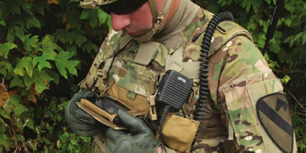 High-Tech Army Device Helps Mobile Infantry in Combat