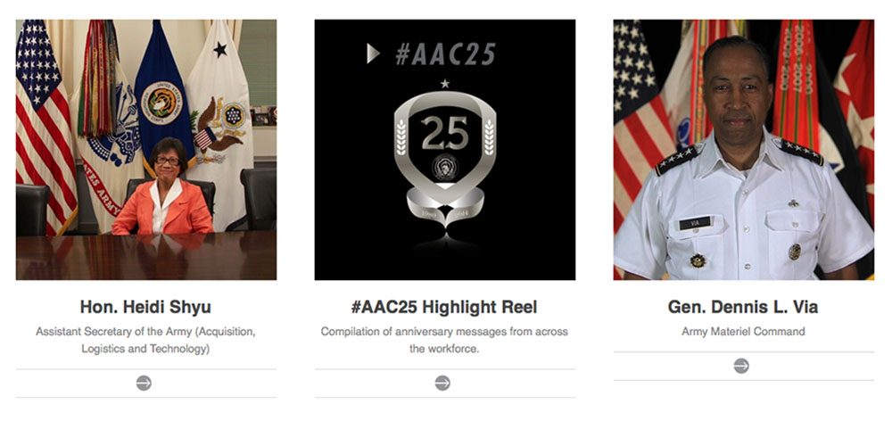 USAASC kicks-off 25th anniversary video contest