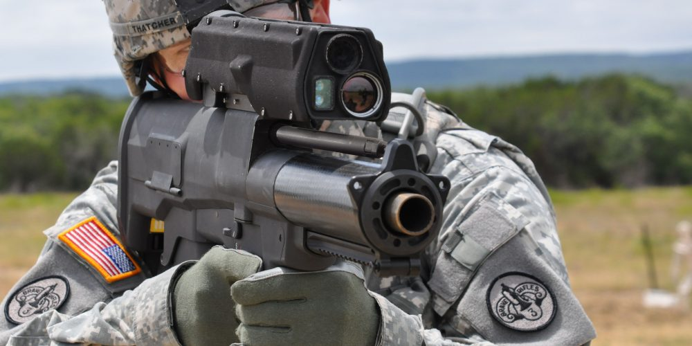 #AAC25 Army refines airburst technology, XM25 'Punisher'