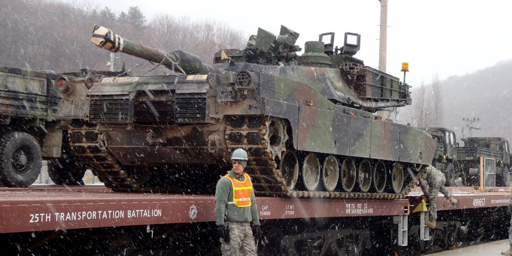 Sustaining the readiness and training in the Republic of Korea