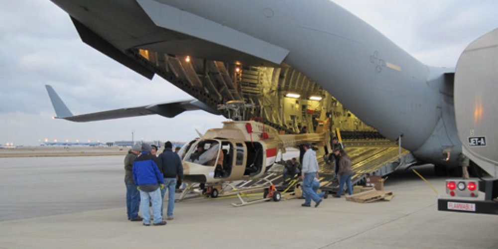 U.S. Army Security Assistance Command Facilitates Delivery of Bell 407 Helicopters to Iraq