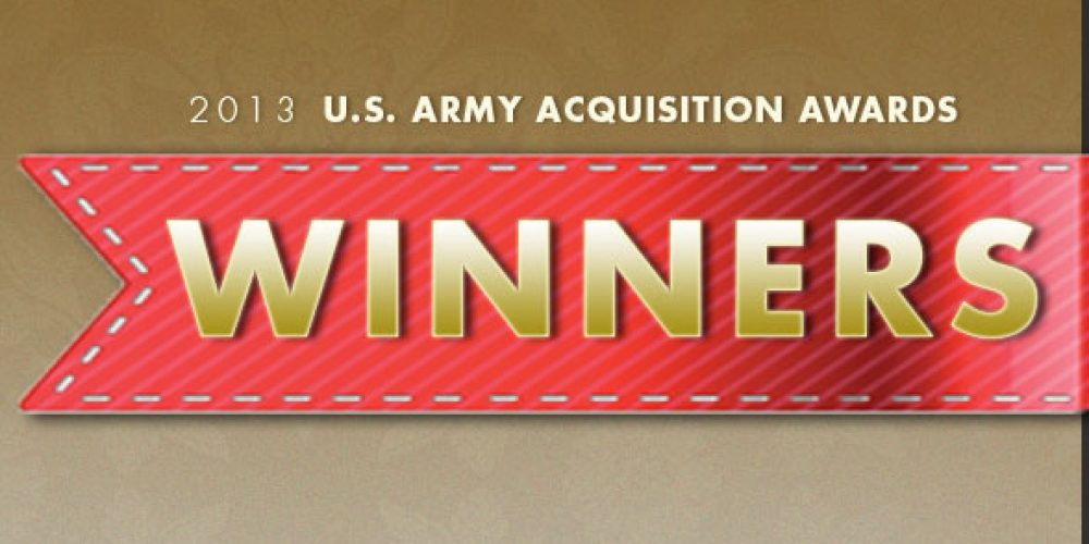 USAASC announces 2013 U.S. Army Acquisition Awards winners