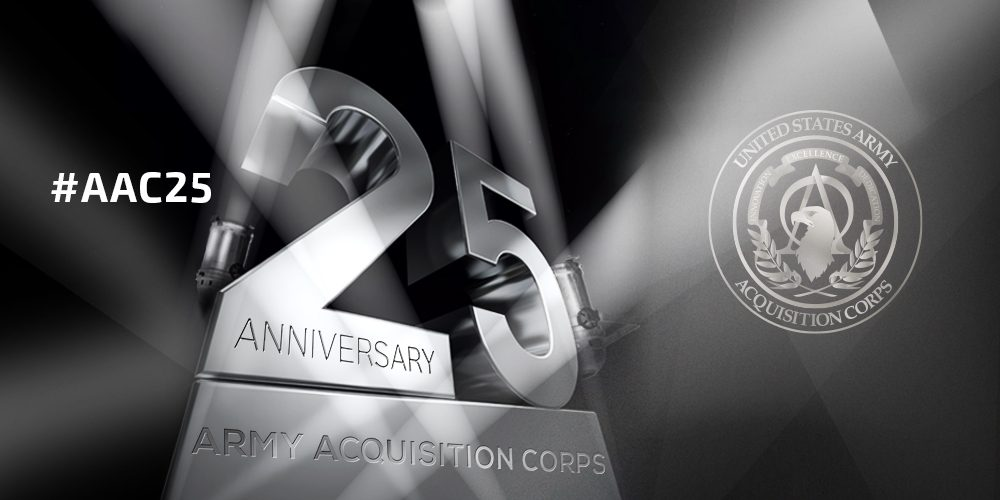 Presidential recognition for 25 years of Army acquisition excellence