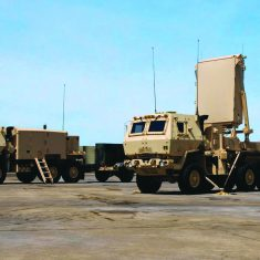 AN/TPQ-53 Counterfire Target Acquisition Radar (formerly known as the Enhanced AN/TPQ-36)
