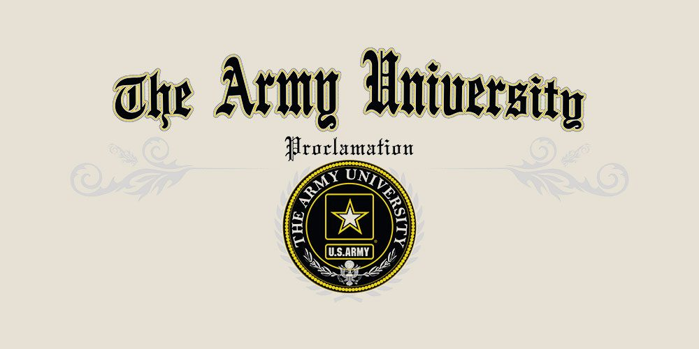 Army plans to consolidate educational offerings
