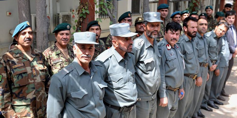 Developing Afghan Force Managers