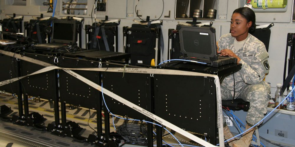 Rapid prototyping leads to quick delivery of airborne command post solution