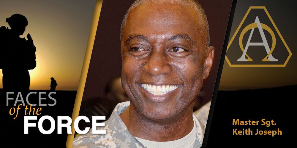 Faces of the Force: Master Sgt. Keith Joseph
