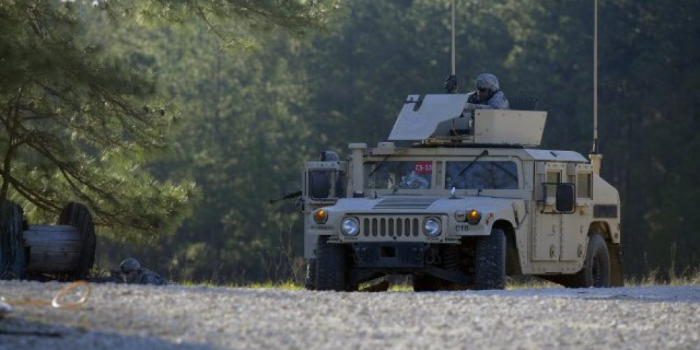 Humvee training sets support Army network fielding