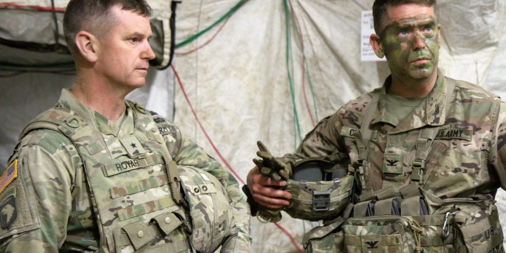 Innovation in the Army needs to come from the top down and the ground up