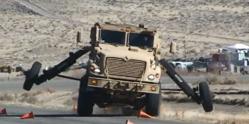 Safety to the Maxx: Army outfits first vehicles with electronic stability control