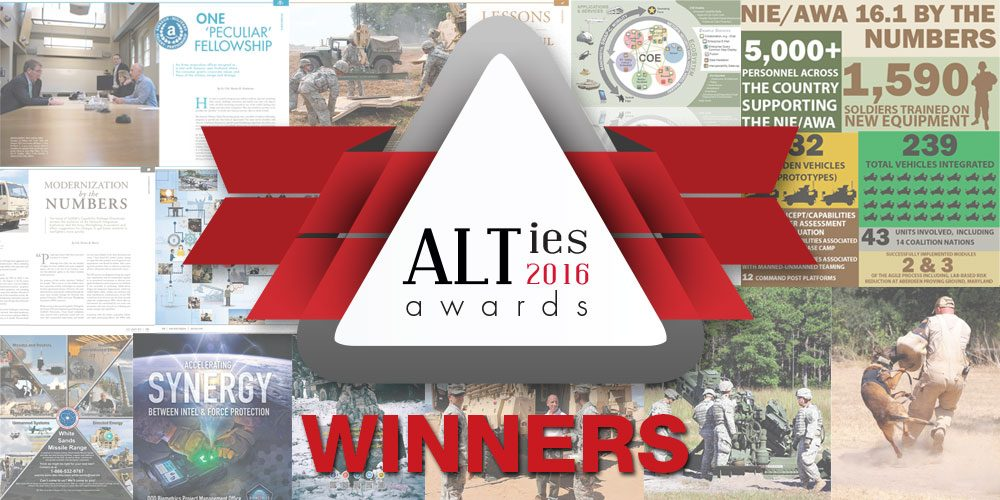 Army AL&T's 2016 'ALTies' are in, and the winners are…