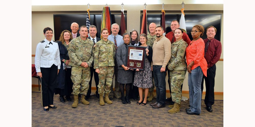 Army Medical Logistics Recognized with Wolf Pack Award