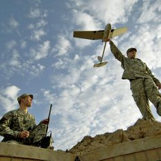 RQ-11B Raven Small Unmanned Aircraft System (SUAS)