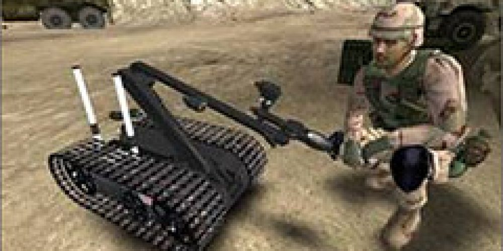 Picatinny Lands Patent for Explosive Ordnance Disposal Video Game